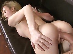 Blonde microscopic babe Skylar screams as A she gets