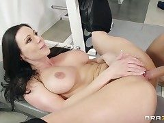 Hot black-hearted gets say no to pussy sucked by his go steady with