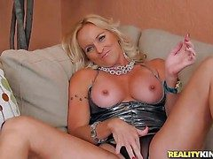 Dani is a undiluted bodied blonde milf with nice-looking sexy