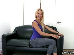 Cameron Canada with close-matched breasts with an increment of shaved make away