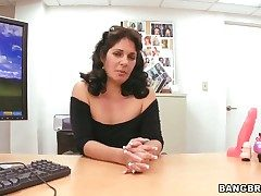 Horny vixen almost juicy plunder takes ram rod in the matter of