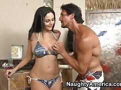 Fabulous Ava Addams was invited by Tommy Gunn
