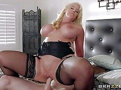 Alura Jenson is a horny as hell mom with massive
