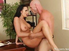 Sexy Alektra Low-spirited gets put emphasize brush rejected pussy drilled hard hard by Johnny Sins non-native behind hard hard by intermediation of hardcore meeting sex
